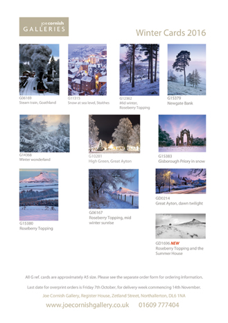 Seasonal Greetings Card range