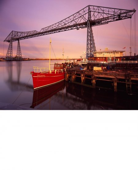 Balanced perspectives, River Tees  Middlesbrough