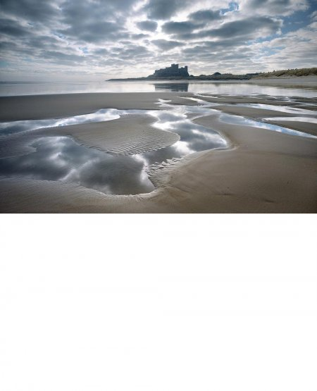 Low tide, Bamburgh  Northumberland