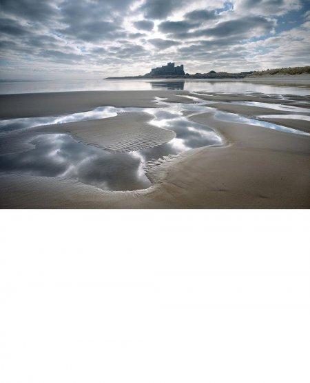 Low tide, Bamburgh  Northumberland