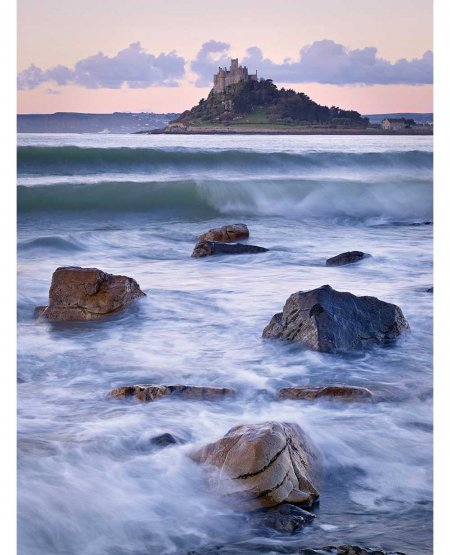 St Michael's Mount, winter sunrise  Cornwall