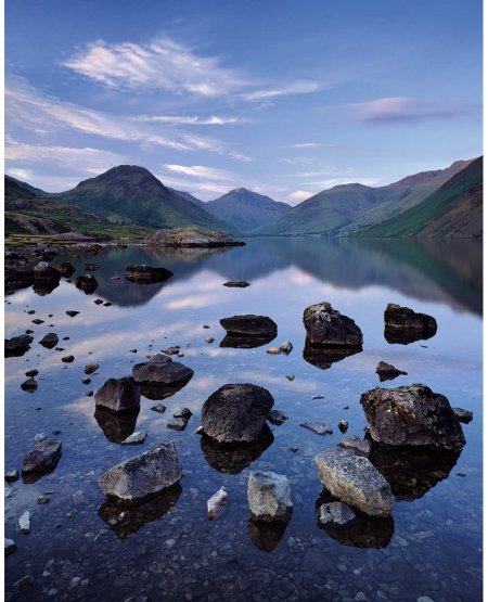 Stone group, Wast Water  The Lake District