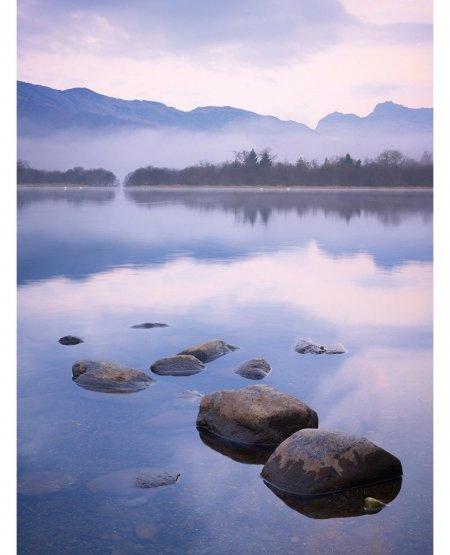 Misty dawn, Elterwater