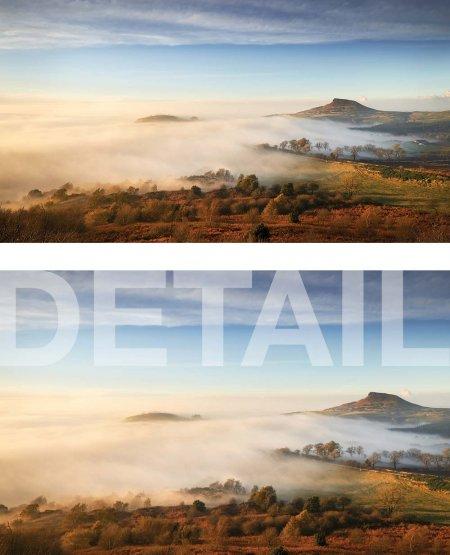Season of mists, Roseberry Topping North York Moors