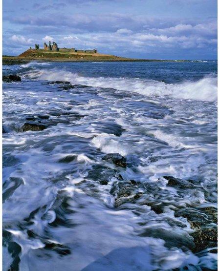 Incoming Tide, Dunstanburgh