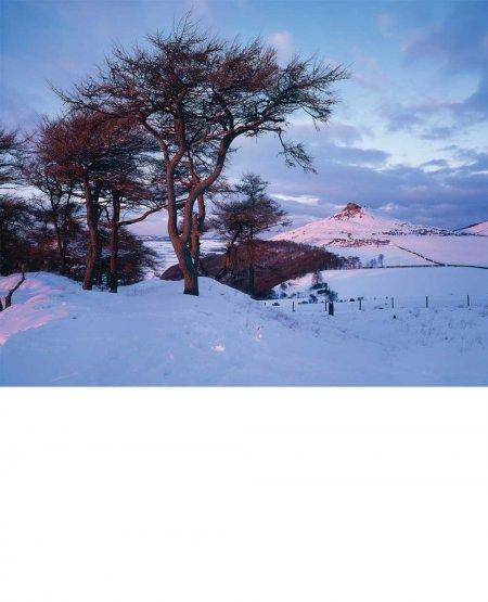 Roseberry Topping in Winter