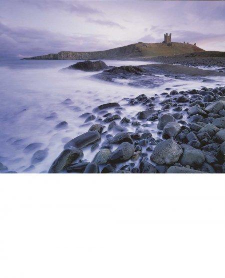 Dunstanburgh, dusk