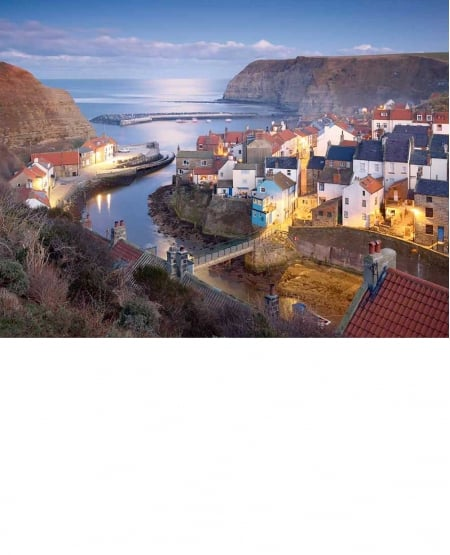 Winter Twilight - Staithes
