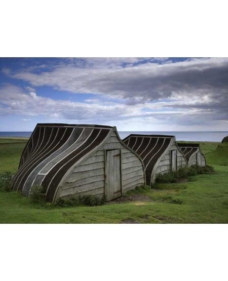 Boatsheds, Lindisfarne Castle