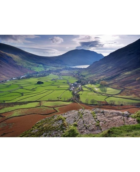 Wasdale from Kirk Fell
