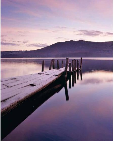 Derwent Water, winter dawn