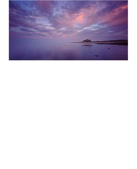 Bamburgh, twilight