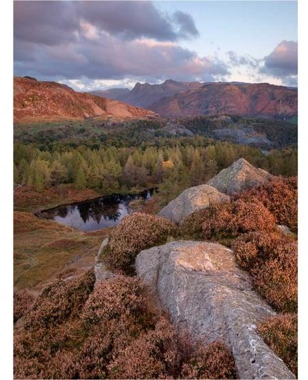 Dawn on Holme Fell by Matt Lethbridge