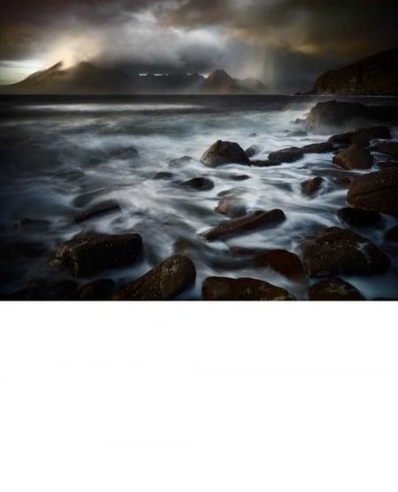 The Cuillins from Elgol, Isle of Skye, View #4 - 2011 by Julian Calverley