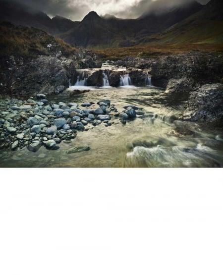 Allt Coir' A' Mhadaidh, Glen Brittle, Isle of Skye - 2010 by Julian Calverley
