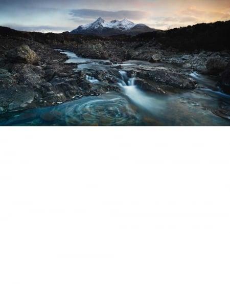 The Cuillins from Glen Sligachan, Isle of Skye, View #2 - 2013 by Julian Calverley