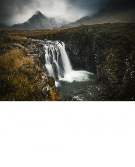 Allt Coir' A' Mhadaidh, Glen Brittle, Isle of Skye - 2009 by Julian Calverley