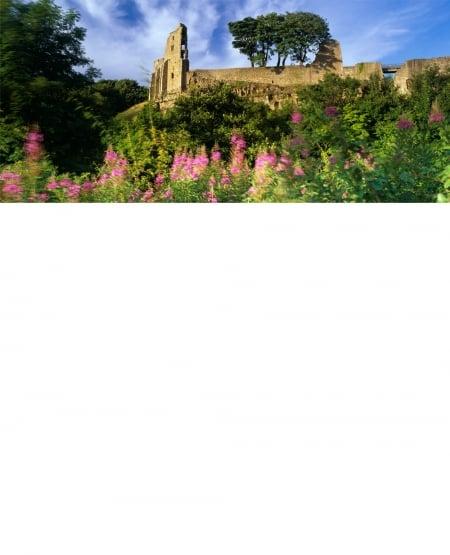 Summer breeze, Barnard Castle