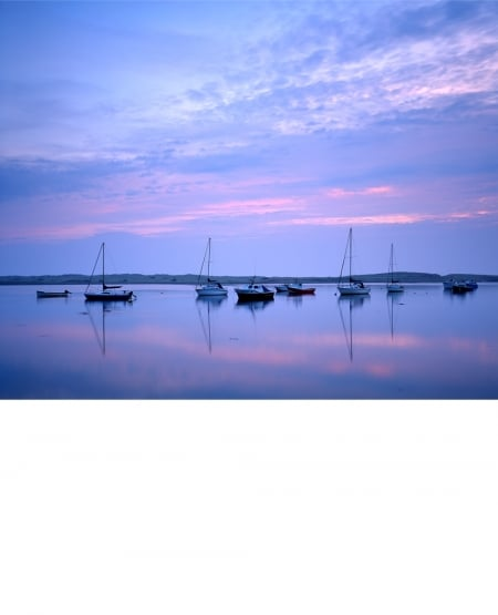 Calm dawn, Amble