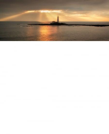 St Mary's Lighthouse Northumberland