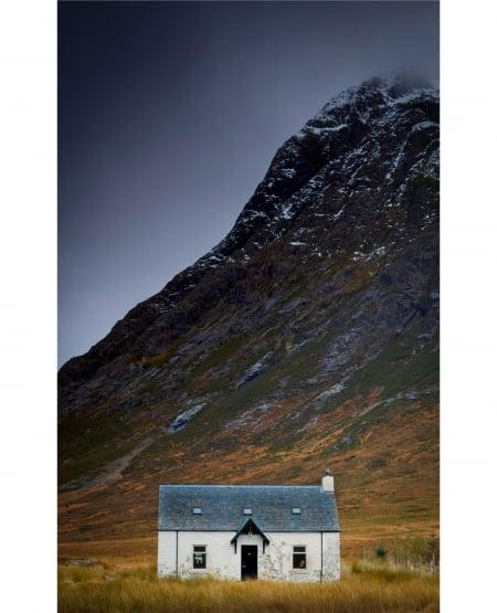 White Cottage, Glen Coe, Scotland