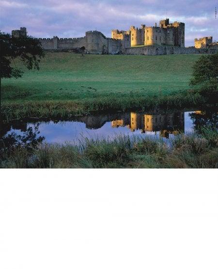 Alnwick Castle, early morning