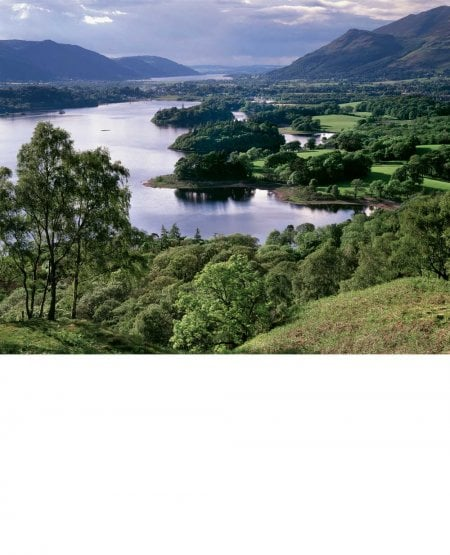 Derwent Water from Falcon Crag