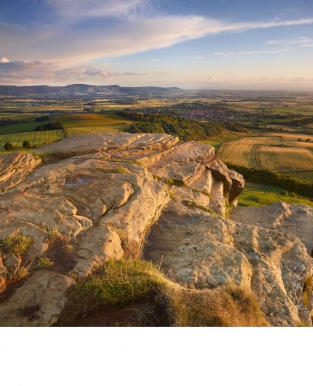 Roseberry Topping, summit