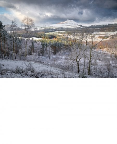 Snowstorm, Roseberry topping