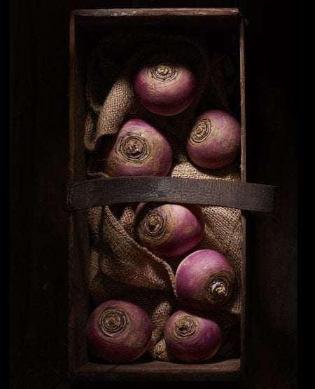 Dark Box- White Turnips