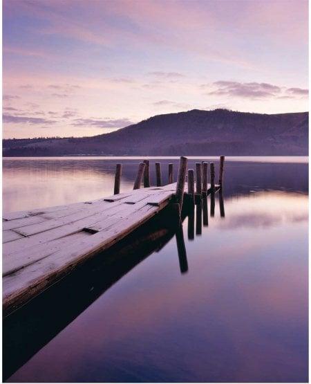 Derwentwater, winter dawn