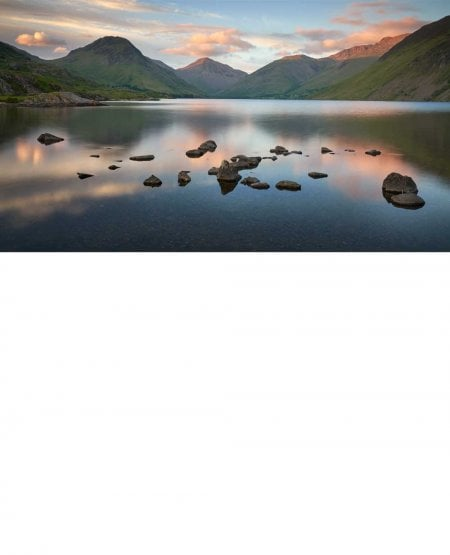 Wast Water, summer evening