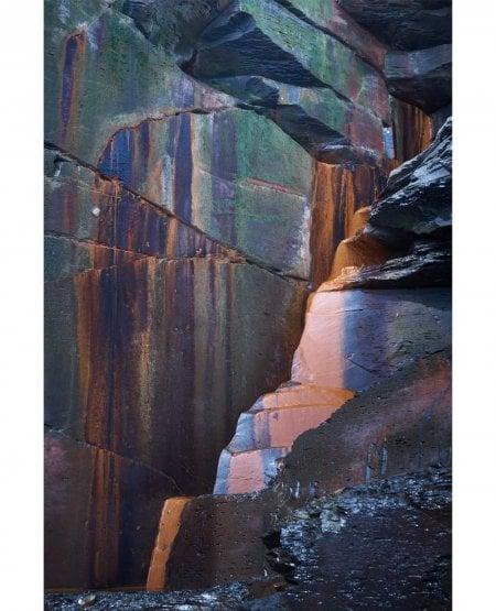 Rust fall, Saltwick