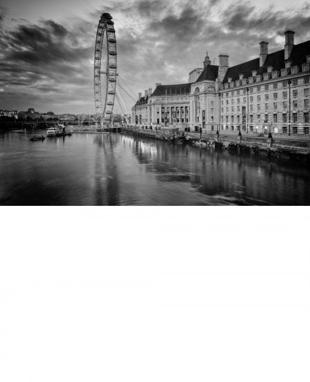 London Eye and County Hall