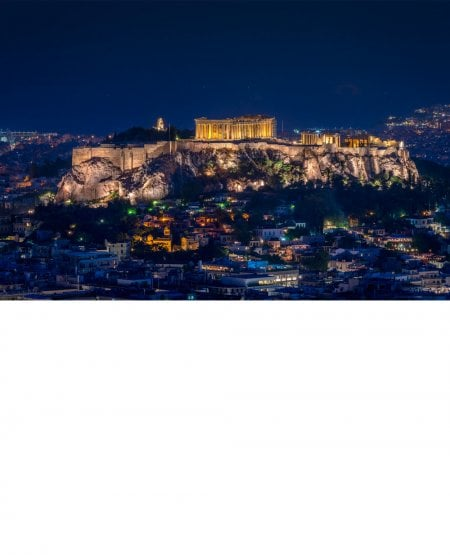 Parthenon Skyline
