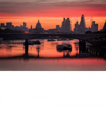 Waterloo Bridge at dawn