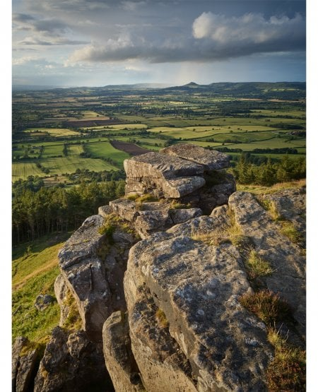 Roseberry Topping from Wainstones