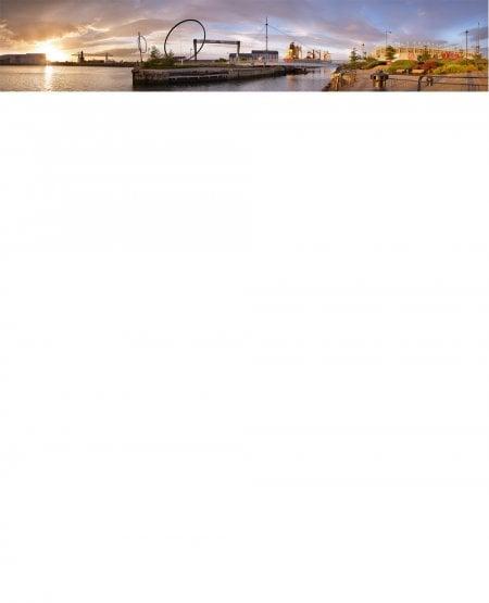 Riverside panorama, Middlesbrough