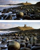 Cannonball Beach, Dunstanburgh, Northumberland