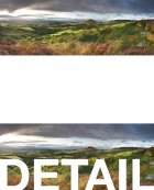 Summer panorama from Gribdale  North York Moors