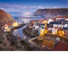 Staithes, Winter Twilight  North Yorkshire Coast