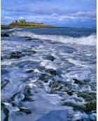 Dunstanburgh, incoming tide