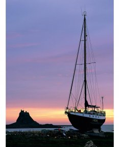 Morning, Holy Island