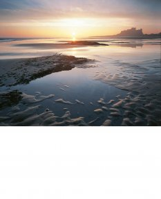 Sunrise, Bamburgh Castle