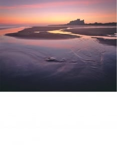 Bamburgh, quiet dawn
