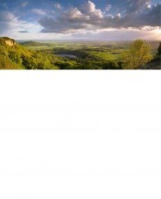 Sutton Bank, a view of Yorkshire