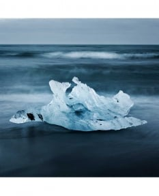 Jokulsarlon Beach by Leeming & Paterson