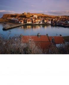 Whitby Harbour, winter afternoon