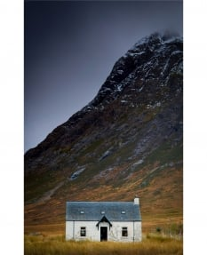 White Cottage, Glen Coe, Scotland
