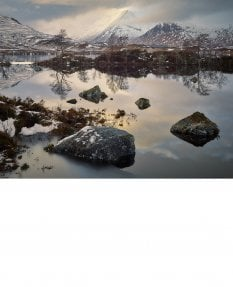 Black Mount, Rannoch Moor, winter
